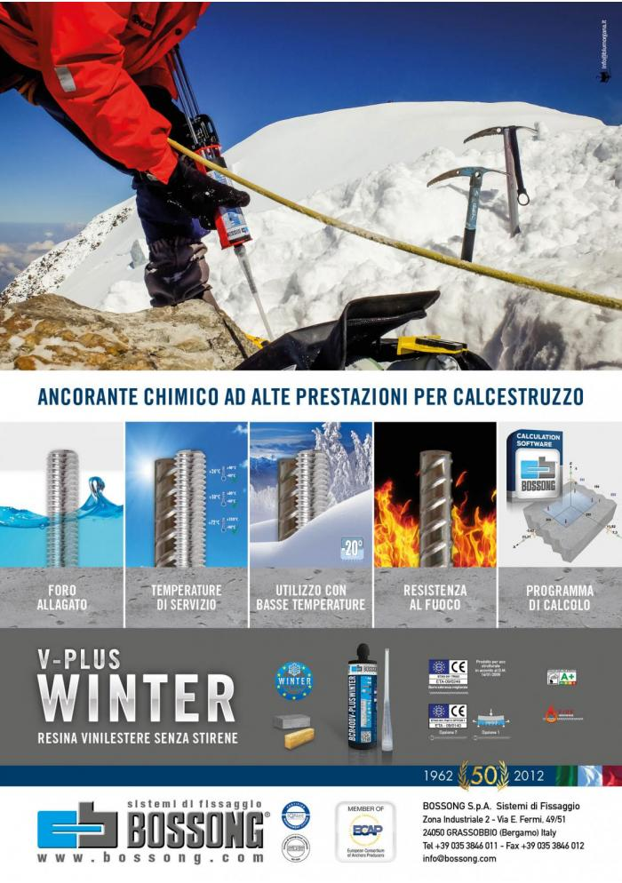 Winter V_Plus Bossong per temperature invernali