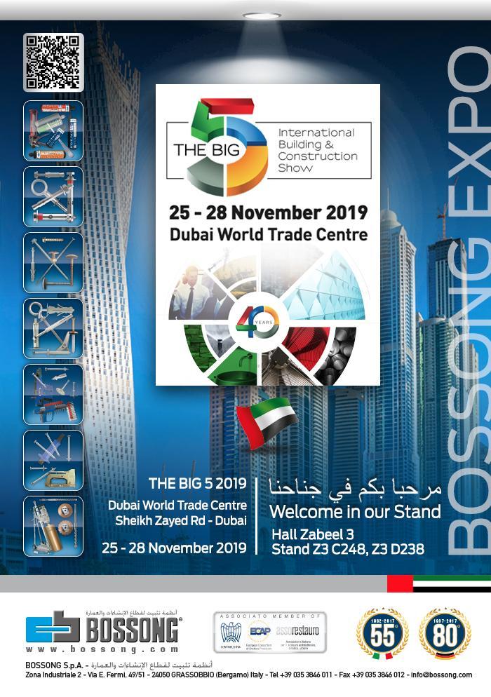 VISÍTENOS @ THE BIG 5 DUBAI 25-28 NOVIEMBRE 2019
