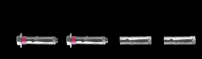BSB ancoranti Bossong ad espansione disponibile in versione inox
